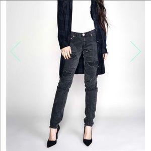 One Teaspoon Freebirds Trashed Skinny Jeans C414
